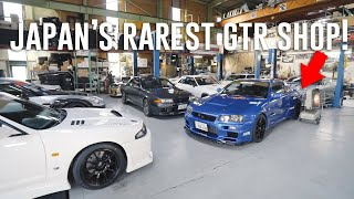 Download Viewing Japan's RAREST Skyline GTR Shop *Top Secret Garage* Video