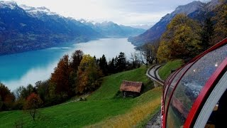 Download Scenic Switzerland from The Brienz Rothorn Bahn (Cog Railway) Video