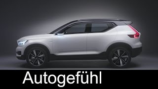 Download New Volvo XC40/V40/S40 preview: concept 40.1 and 40.2 - Autogefühl Video
