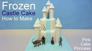 Download Disney Frozen Castle Cake How to by Pink Cake Princess Video