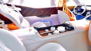 Download Maybach INTERIOR Bespoke Gold Seats Tea Set Limited Edition Mercedes SUV Interior 2019 CARJAM Video