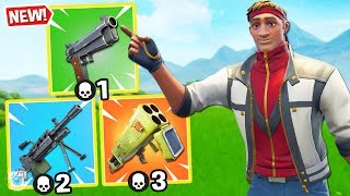 Download *FUNNY* GUN GAME! Custom Gamemode in Fortnite Battle Royale! *SEASON 6* Video
