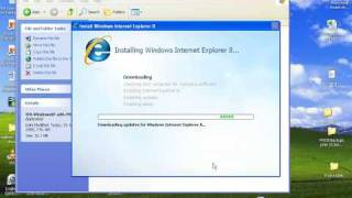 Download Download and Install Internet Explorer 8 Video