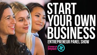 Download Four Successful Entrepreneurs Share Their Best Tips | Women of Impact Video