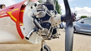 Download FIRST RUN UP - MOKI 400cc 5 CYL RADIAL - 1/3 SCALE RC YAKOVLEV YAK 11 - PHIL NOEL - 2017 Video