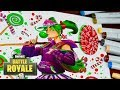 Download Drawing Fortnite Battle Royale - Zoey - New Skin Season 4 - How to Draw Fortnite Character Video