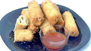 Download CHEESEY BREAD FINGER *COOK WITH FAIZA* Video