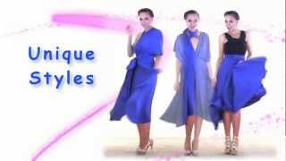 Download 27 Ways to Wear 1 Dress in 7 Minutes! Convertible Twist Wrap Dress Video
