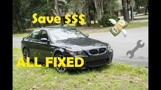 Download I SAVED $3K FIXING MY BMW M5!!! (Engine Fault Fix) Video
