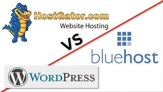 Download HostGator VS Bluehost! Which is BEST for WordPress Hosting? Video