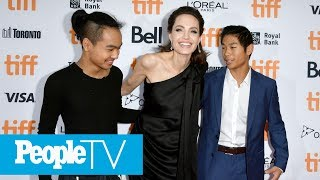 Download Angelina Jolie Opens Up About Her 'Difficult' Year: 'I Am A Little Bit Stronger'   PeopleTV Video