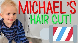 Download Michael's Hair Cut - By Himself! Video