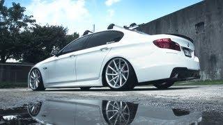 Download BMW F10 | Vossen CVT Directional Wheels | Rims Video