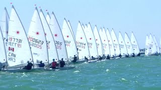 Download Strategy & Techniques for a typical Laser race - Yachts and Yachting with Nick Thompson Video