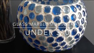 Download DIY: Glass Marble Mosaic Vase ♡ {Patio Decor} ♡ Jessica Joaquin Video