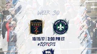 Download USL LIVE - Bethlehem Steel FC vs Saint Louis FC 10/15/17 Video