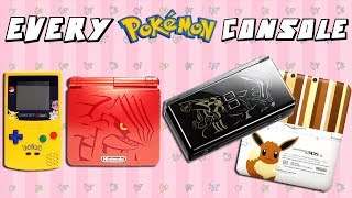 Download Every Limited Edition Pokemon Console Ever Made Video