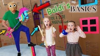 Download Baldi in Real Life Behind Closed Doors! Trolls Hair Huggers Toy Scavenger Hunt for Kids!! Video