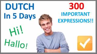 Download Learn Dutch in 5 Days - Conversation for Beginners Video