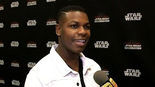 Download John Boyega at 'Star Wars Celebration' - Full Interview! Video
