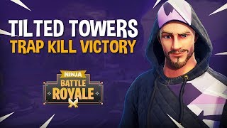 Download Tilted Towers: Trap Kill Victory!! - Fortnite Battle Royale Gameplay - Ninja & KingRichard Video
