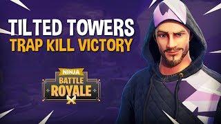 Download Tilted Towers: Trap Kill Victory!! - Fortnite Battle Royale Gameplay - Ninja & KingRichard Video