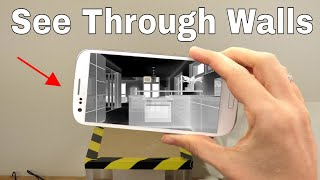 Download How To Use Your Smartphone to See Through Walls! Superman's X-ray Vision Challenge Video