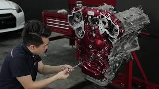 Download Nissan GT-R R35 Engine Restoration by Hanz autoworks Video