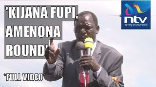 "Download ""Kijana fupi round"": Governor Lonyangapuo's hilarious speech |FULL VIDEO Video"