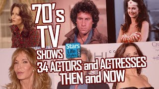 Download 70's TV Shows : 34 Actors And Actresses Nowadays | Stars Then And Now Video