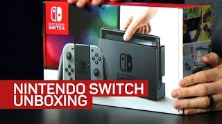 Download Nintendo Switch Unboxing, Initial Impressions Video