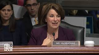 Download 'What are you hiding?': Klobuchar says GOP is 'afraid' of FBI probe into Kavanaugh allegation Video