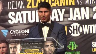 Download CARL FRAMPTON VS LEO SANTA CRUZ MEDIA PRESS CONFERENCE Video