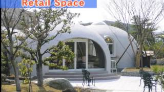 Download Expanded Polystyrene Made Dome House Video