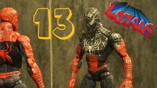 Download SPIDERMAN STOP MOTION Action Video Part 13 with BATMAN Video