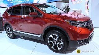 Download 2017 Honda CRV Touring AWD - Exterior and Interior Walkaround - Debut at 2016 LA Auto Show Video