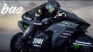 Download Kawasaki Ninja H2R Chinh Phục Tốc Độ 400Km/h Tại Thánh Địa Tốc Độ | BAZ Channel Video