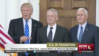 "Download Trump nominates ""Mad Dog"" James Mattis as Defense Secretary Video"