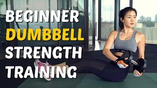 Download How to Lift Dumbbells to Lose Weight & Lean Up | Gym Training | Joanna Soh Video