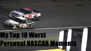 Download My Top 10 Personal Worst Moments in NASCAR Video