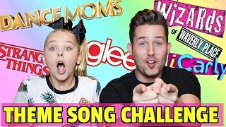 Download TV THEME SONG CHALLENGE // WITH JOJO SIWA!!! Video