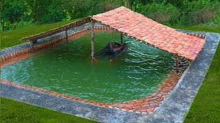 Download Building The Most Beautiful Biggest Swimming Pool Underground In The Forest (Full Video) Video