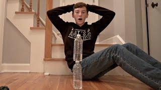 Download Water Bottle Flip Trick Shots 4   That's Amazing Video