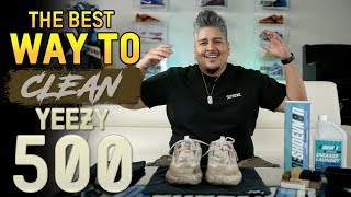 Download Yeezy 500 ″Blush″ Cleaning + Suede Care Tips Video