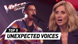 Download Most UNEXPECTED VOICES in The Blind Auditions of The Voice Video