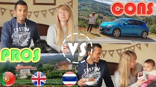Download PROS AND CONS OF LIVING IN PORTUGAL (VS UK & THAILAND) INTERVIEW Video