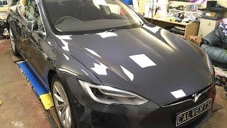 Download Tesla Model S 90D - 4K UHD - Paint Protection - Shield 3K Video