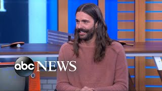 Download 'Queer Eye' star Jonathan Van Ness shows off his 'reality star side hustle' Video