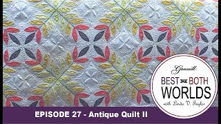 Download Episode 27 -Best of Both Worlds - Leafy Quilt Part 2 Video