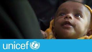 Download Malnutrition plagues Rohingya refugee children | UNICEF Video
